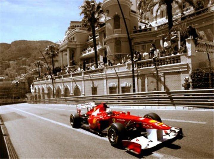 Ferrari at Monaco - RJG Sketchbook