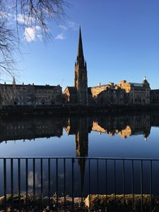 Photograph across River Tay, Perth