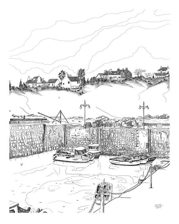 Crail Harbour, Scotland - grantwilson