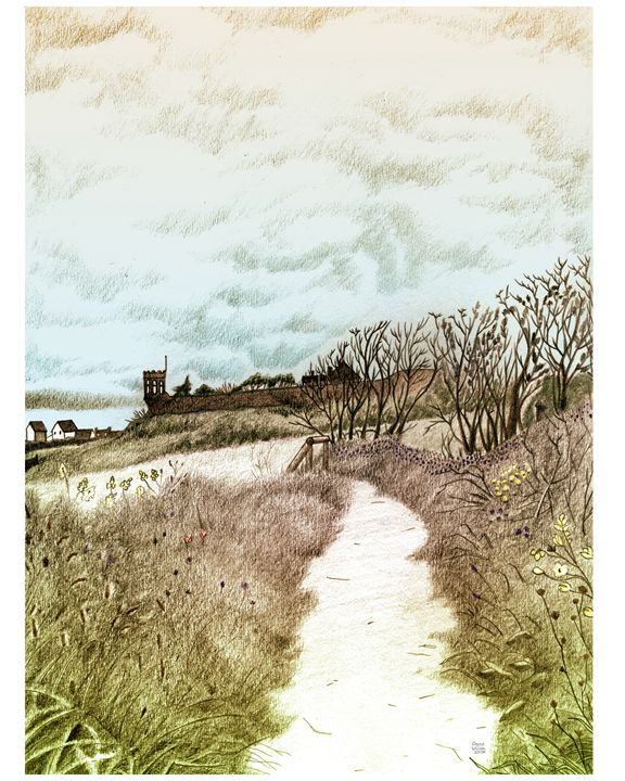 Crail, Scotland: Pencil sketch - grantwilson