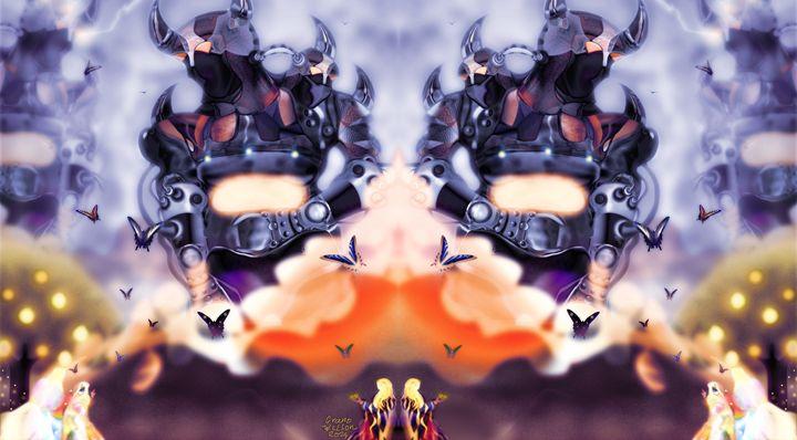 King Robots [Mirrored] - grantwilson
