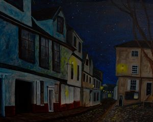 Elm Hill Starry Night