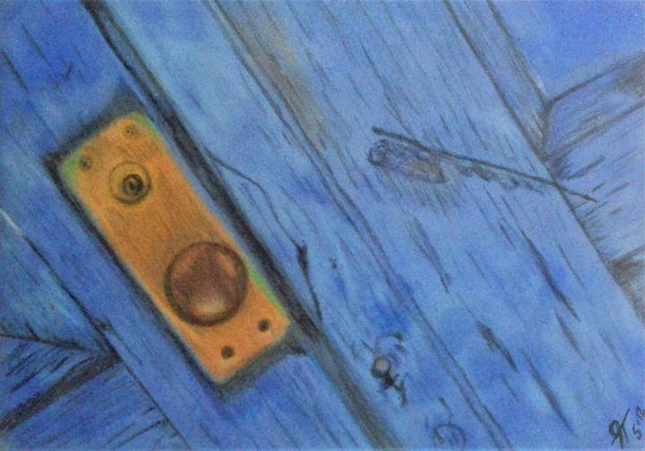Old Door - Gaylynns Art