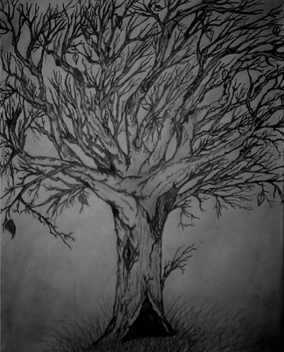 Beautiful Old Tree - Gaylynns Art