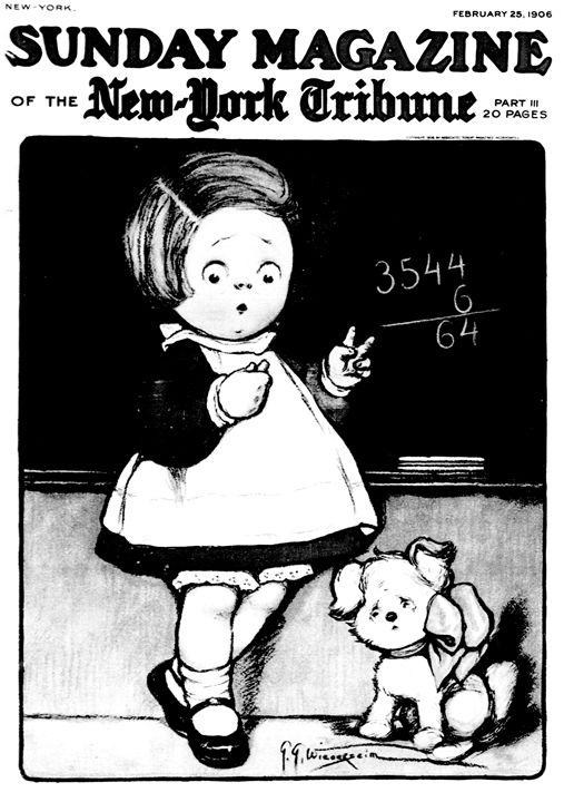 GG Wiederseim Girl At Blackboard - Sue Whitehead Arts