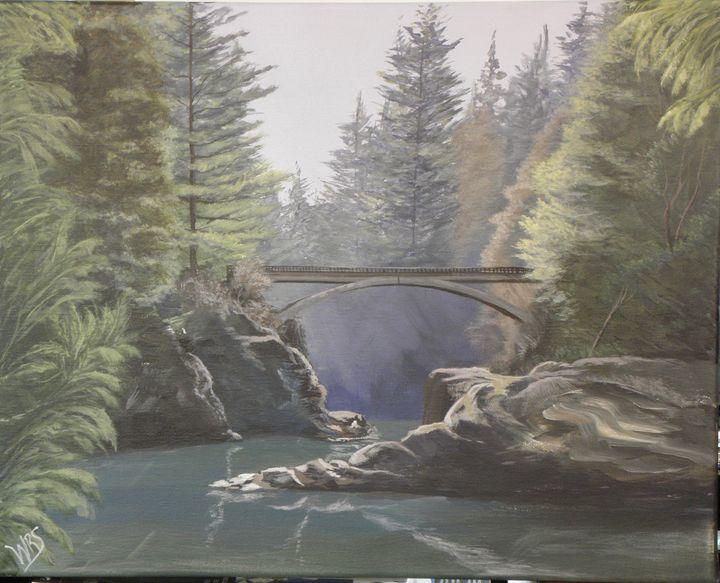 Moulton Falls Park Bridge - WSanders Gallery