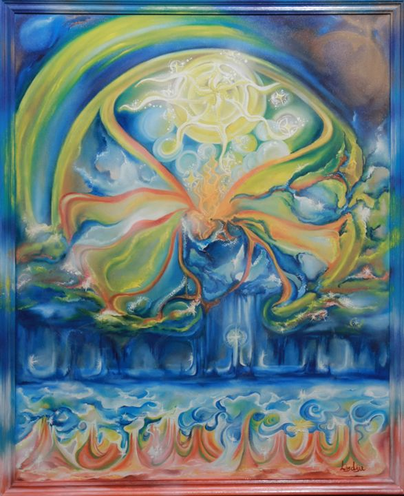 The beginning of dreams - Lindija art