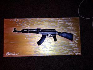 Gun Canvas
