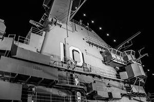 USS Yorktown at Midnight