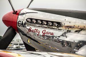 """P51 Mustang """"Betty Jane"""""""