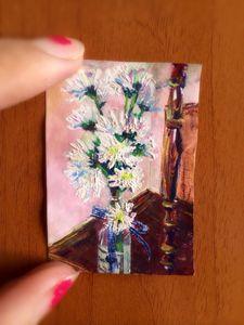 Mini flower painting