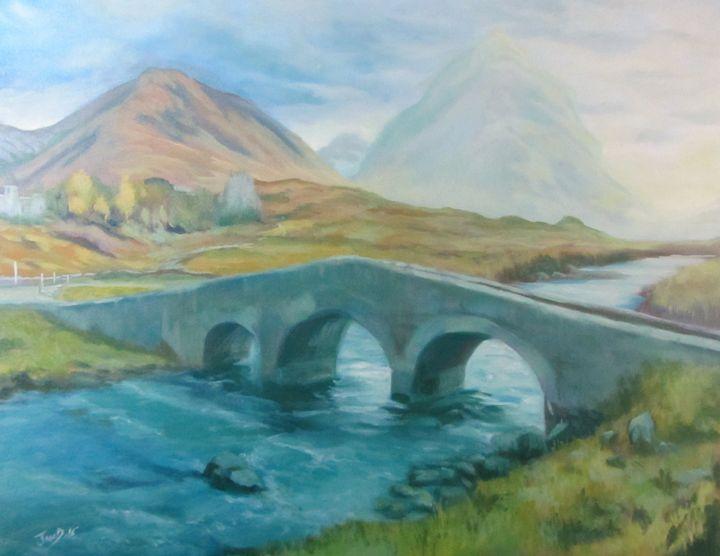 Bridge on Isle of Skye - JayMcD Artwork