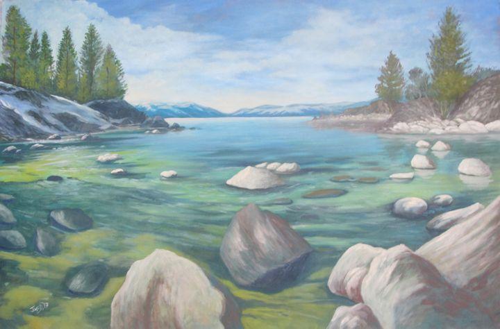 Wintery Cove - JayMcD Artwork