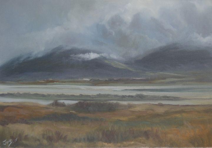 Mountain Mists, Beached Grasses - JayMcD Artwork