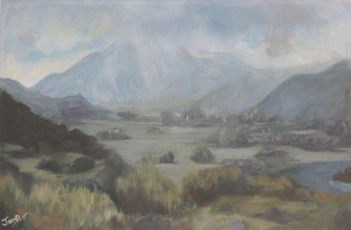 Rain swept valley - JayMcD Artwork
