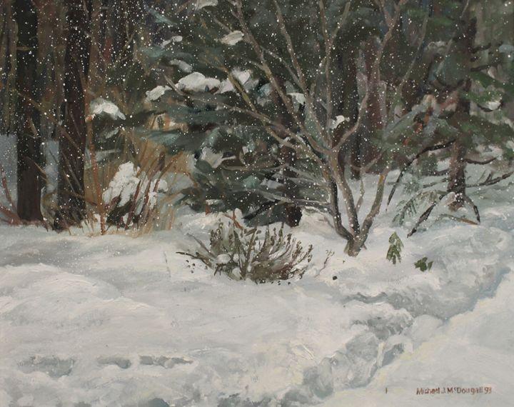 Winter in Wenham - Michael McDougall