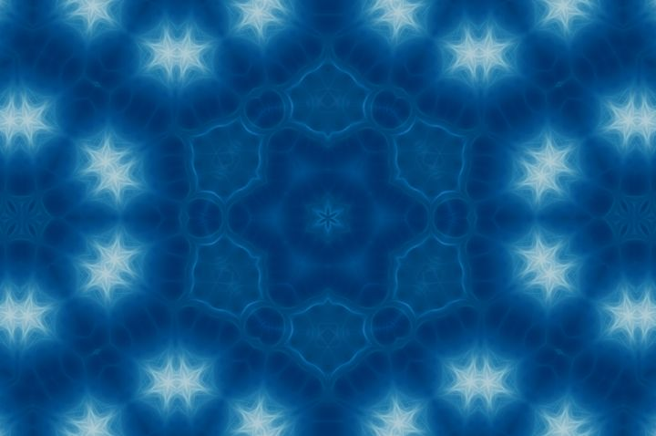 Blue Stars - Jus4fundesigns