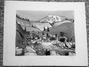 Mount Rainier's Valley