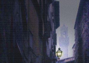 Nightfall in Florence - Mike-e-Art