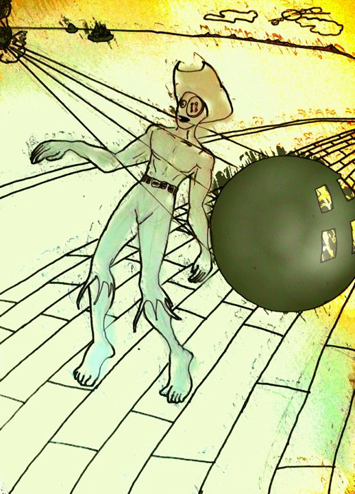 zombie pirate - Tharek Ali Mokbul