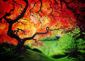 Under the Big Red Tree