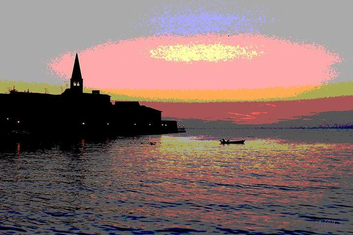 Porec sunset - DutchEye.EU