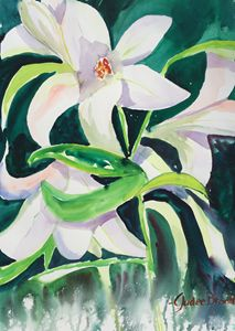 Dancing Easter Lillies
