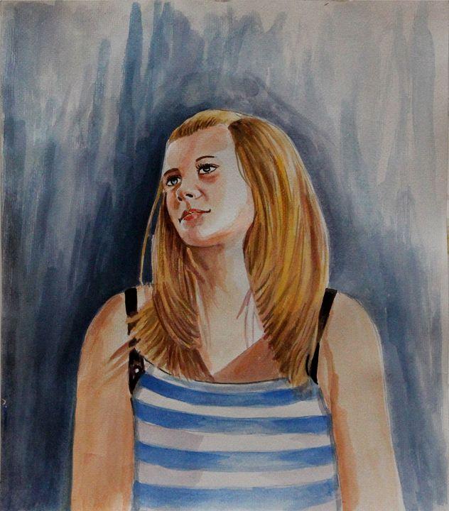 Teenage Girl - Maria Aslam