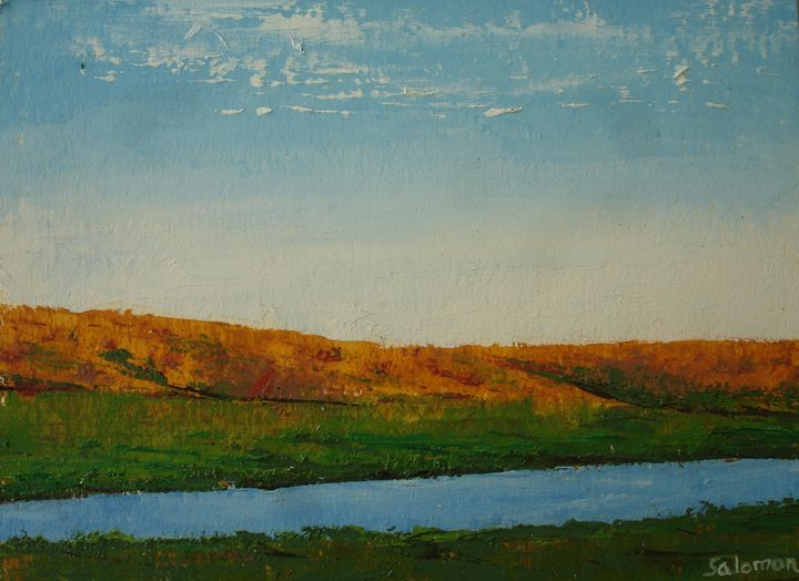landscape - meir salomon - painter