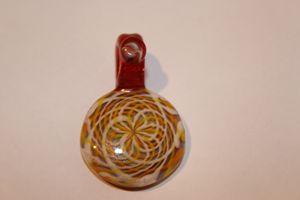 Glass Pendant (Reticello)