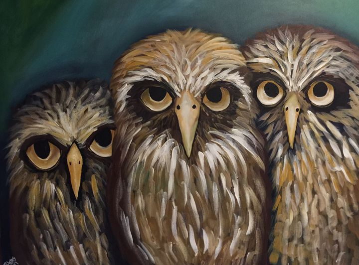 Owl Be Seeing You - AcrylicArtistry