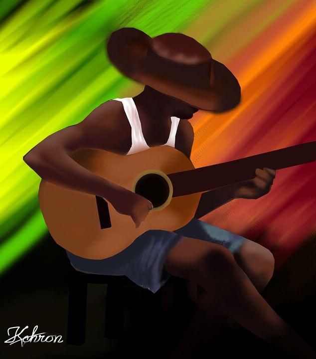 Guitar Man - KchronArtistory