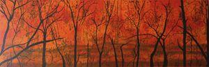 Bushfire Silhouette