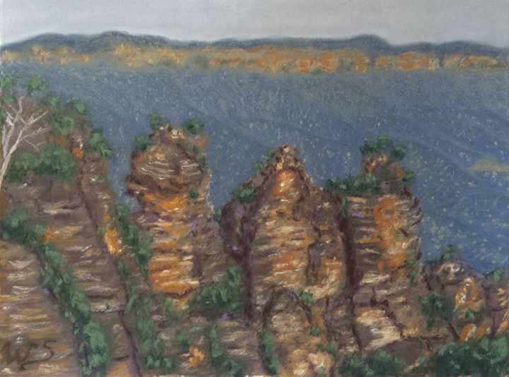 The Three Sisters - Wendy's Art