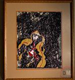 16x19 in. framed