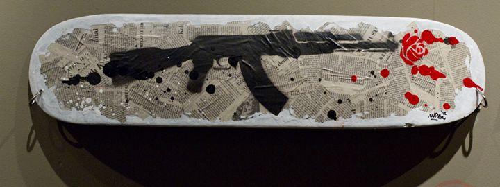No Arms for Atrocities - Artform