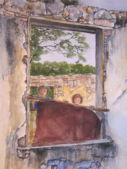 Villa Dama, Mexico 644 - Mark Jenkins Watercolors
