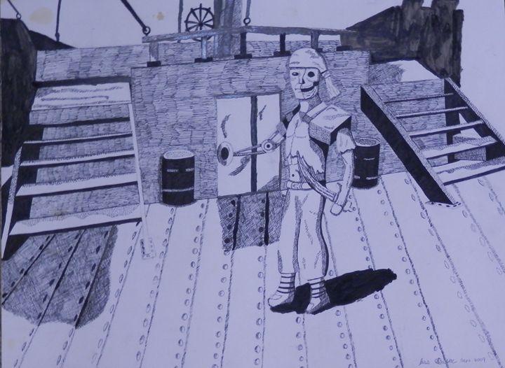 Robot Pirate - SteamAngel Gallery