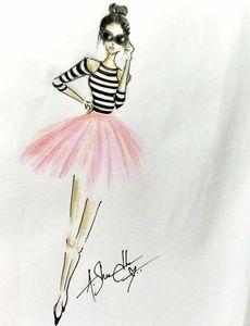 Fashion sketch by shraddha