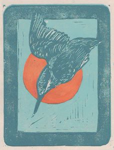 Kingfisher at Dawn