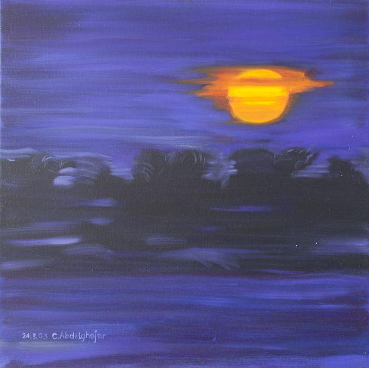 Sunset in Africa - Claudia Luethi alias Abdelghafar