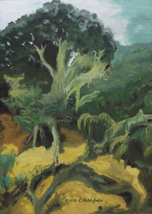 Tropical forest - Claudia Luethi alias Abdelghafar