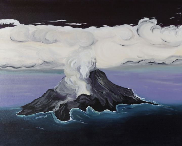 Volcanic island - Claudia Luethi alias Abdelghafar