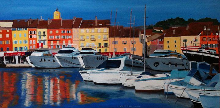 St. Tropez - Claudia Luethi alias Abdelghafar
