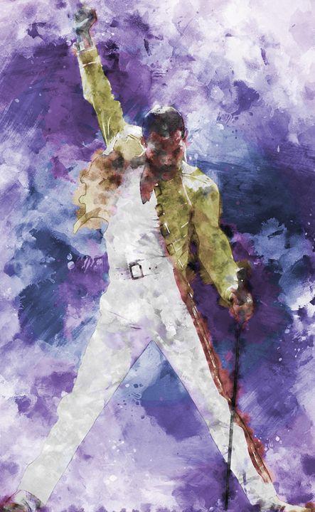 Freddie Mercury - Ruben Bracamonte