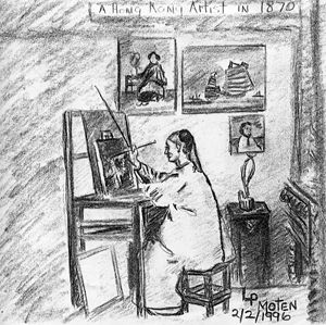 The Chinese Artist of 1870