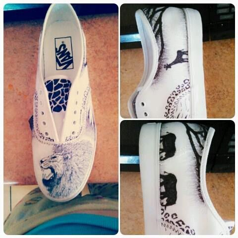 Shoe design - Ashley's Creativity