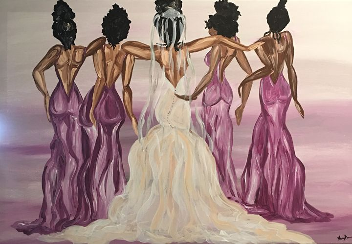 Bridal Party - Art By Wendy