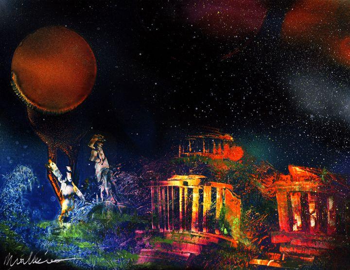 Adam and Eve Find the Temple - Michael Cicirelli