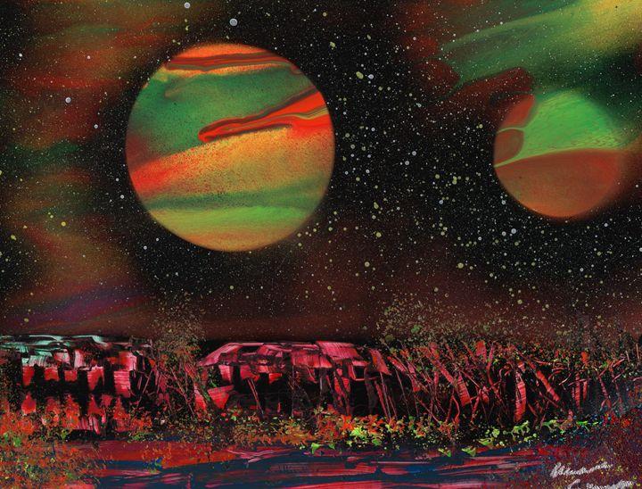 From Jupiter's Moon - Michael Cicirelli